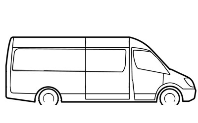 Passenger Van Rental list