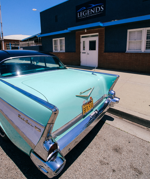 57 Chevy Belair for rent